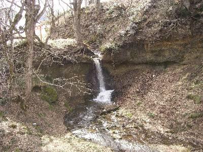 修験行場の滝